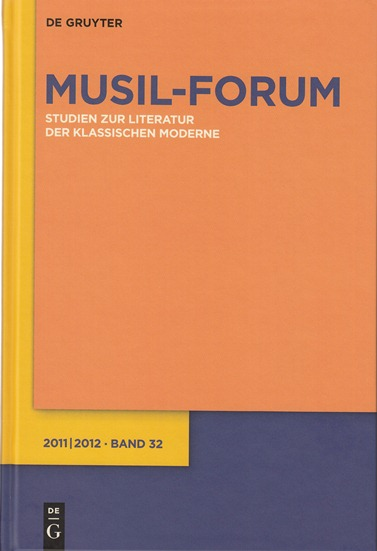 Musil-Forum 2010|2011 Band 31